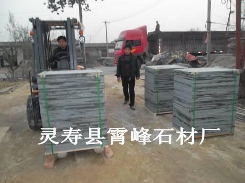 中國黑石材樓梯踏步 2