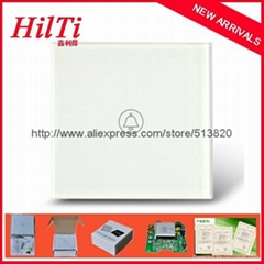 Intelligent touch doorbell switch used for doorbells with LED indicator, AC110V