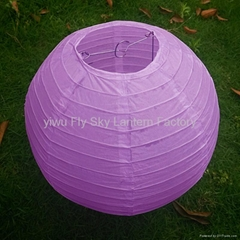 Chinese wholesale round paper lantern light for decoration
