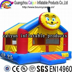 hot inflatable jumping house