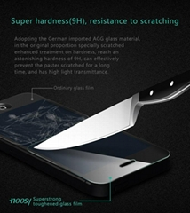 NOOSY explosion proof 9h tempered glass screen protector
