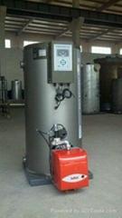 常压立式燃油燃气热水锅炉