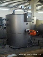 立式燃油燃气蒸汽锅炉