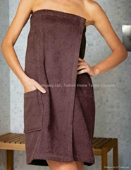 Cotton Sauna Wraps Towel