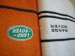 Promotional Jacquard Towels with custom logo