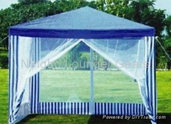 Garden Gazebo with mosquito net