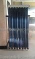 Poland solar collector with CPC mirror