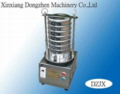 Test sieve shaker mahcine for lab size size analysis
