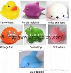 Baby floating bath toy animals