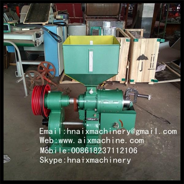 family used rice hulling machine 3
