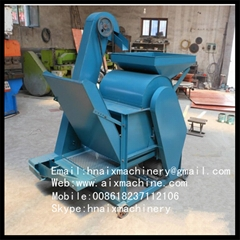 factory supplied castor shelling machine