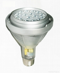 Newest UL liste 45watt par30 led bulb, replace 75watt metal halide
