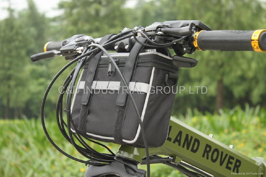 36V 250W electric bike conversion kit with 10AH handlebar bag battery     2