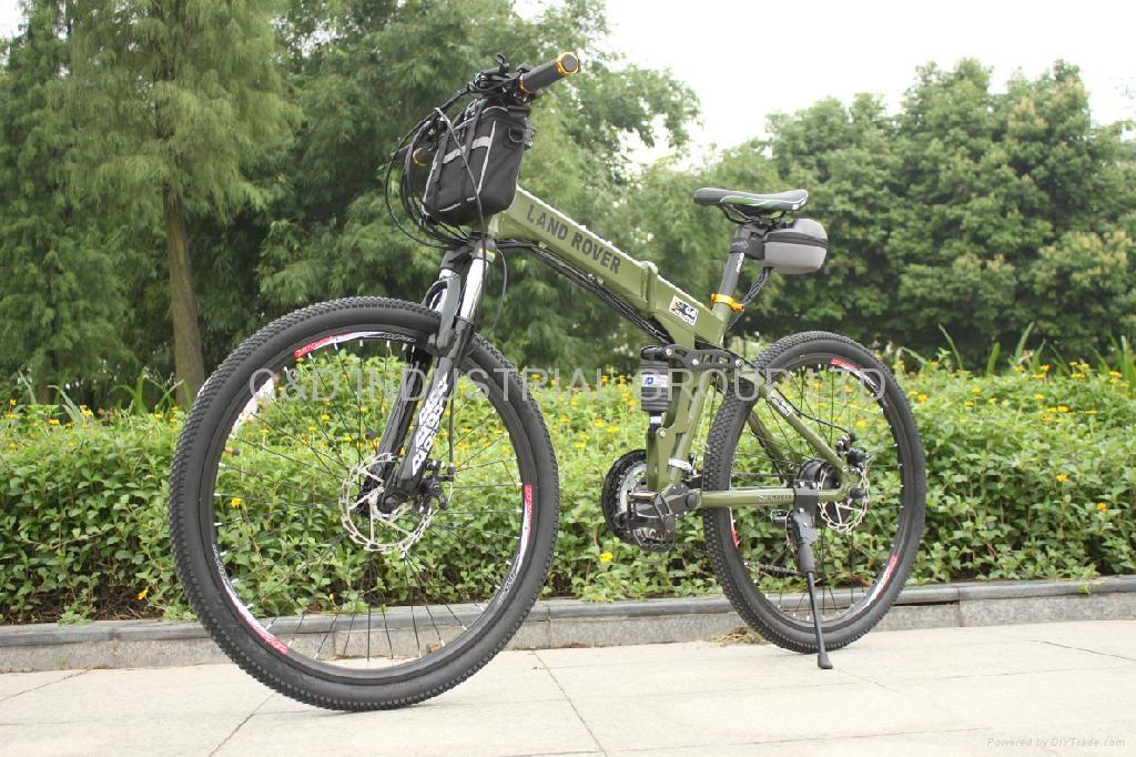 36V 250W electric bike conversion kit with 10AH handlebar bag battery     3