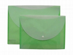 file bag with stick-up