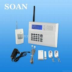 雙網GSM防盜報警器