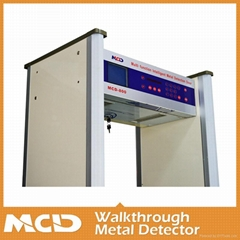 Walk through Metal Detector with High Sensitivity and Quick speed