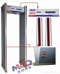 Practical & Widespread Walk Through Metal Detection Door
