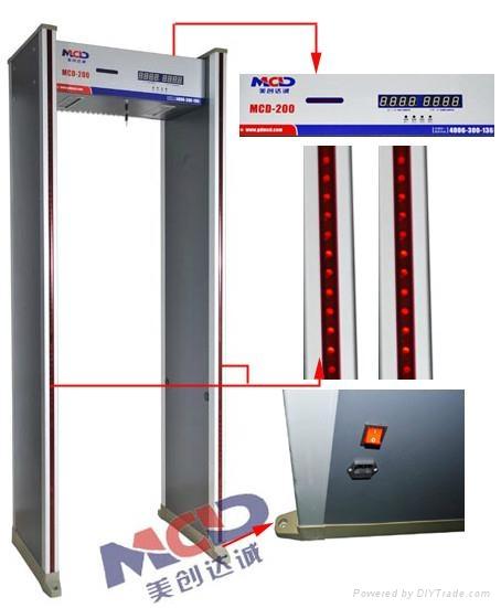Practical & Widespread Walk Through Metal Detection Door 1