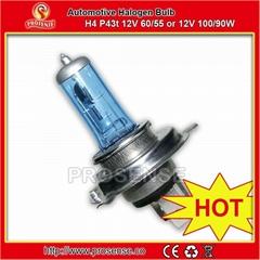 供应汽车卤素前大灯-H4