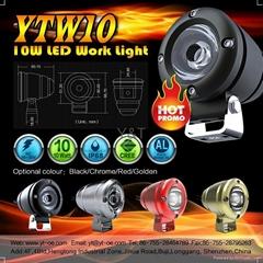 2014 Top Waterproof LED Motorcycle Headlight Dirtbike Driving Light Cree