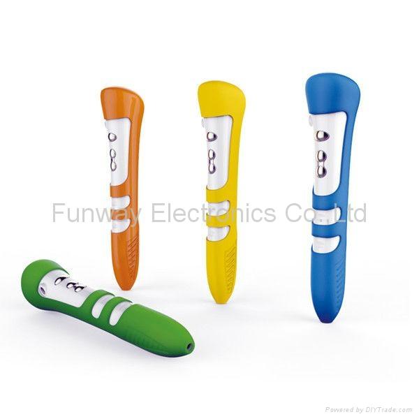 OEM or ODM Smart Kids' Talking Pen Child Speaking Pen 1