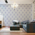 Luxury Embossed Pattern PVC Wallpaper