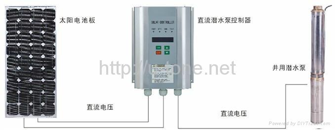 太阳能直流潜水泵系统 SCR750 1