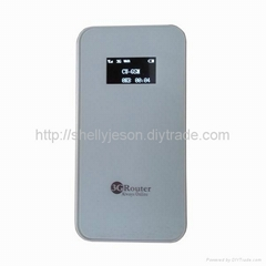 3G wireless router with display screen