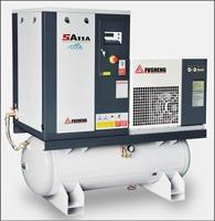 复盛SA系列微油螺杆空压机  4-11KW