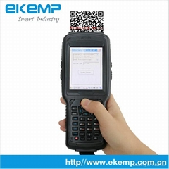 Industrial Handheld Portable PDA with 1D 2D Barcode Scanner (X6)