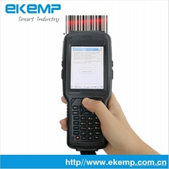 Rugged PDA with Barcode Scanner and RFID Reader (X6)