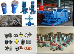 Petroleum Machinery: Hydraulic removable shelf+control plugging pump+Screw drill