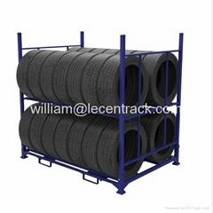 Adjustable Steel Tyre Rack for PCR TBR warehouse storage