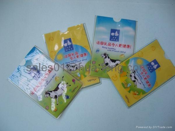 plastic ID card holder 1
