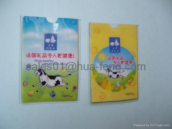 plastic ID card holder 3