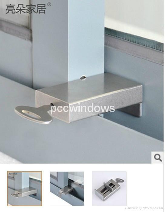 window restrictor/Child safety window lock 1