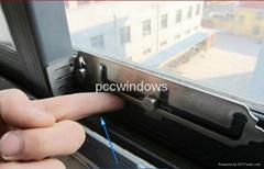 DIY sliding window limiter China /UPVC Sliding window space limter