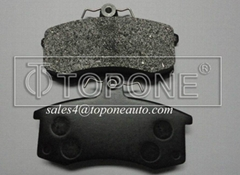 Low Metallic&Semi-Metallic Friction Material Brake Pad For LadaGDB469