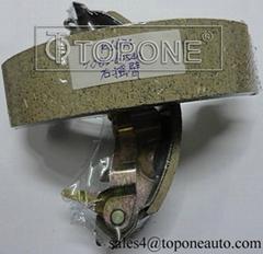 Low Metallic&Semi-Metallic Friction Material Brake Shoe for Mitsubishi GS8225