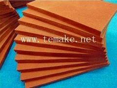 Closed-cell silicone foam board