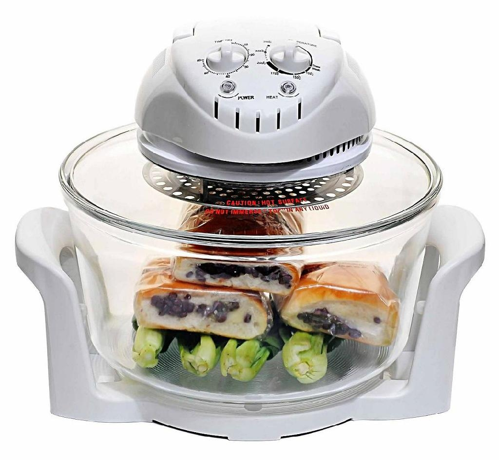 CE/LVD/EMC/ROHS/CB certified 12L Multifunctional Halogen Oven KM-809B 2