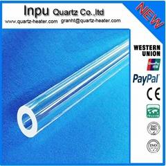 clear quartz glass tubing