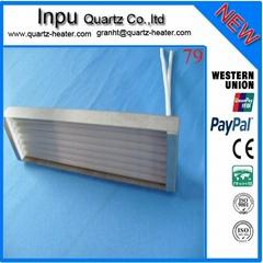 Quartz heater cassette