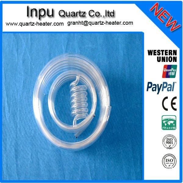 (quartz tube coil ) 2