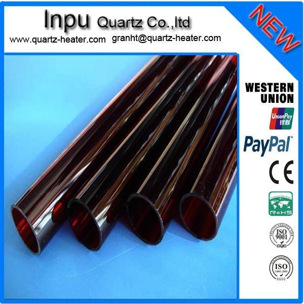 red quartz glass tube 2