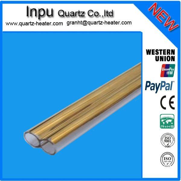 twin quartz tube ,double quartz glass tube  2