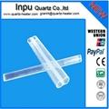 twin quartz tube ,double quartz glass tube  3