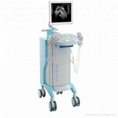 Trolley type ultrasound scanner