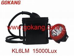 LED mining cap lamp KL6LM 15000Lux 6Ah